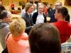 Persönliche Gespräche zwischen Mitgliedern und Florian Sieber